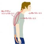 肩こり改善のためには「姿勢」を正しましょう!