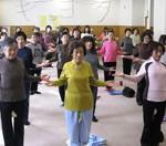 姿勢改善体操はこんなレッスンです!
