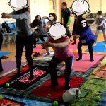 宮の森小学校で姿勢改善セミナー